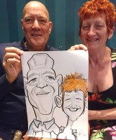 BOLTON CARICATURE ARTIST WEDDING